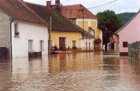švihovská ulice plná vody