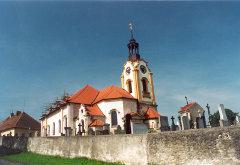 Kostel Sv. Jana Křtitele ve Vřeskovicích
