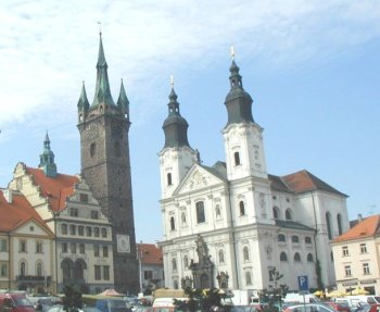 The Black Tower and Jesuit Church
