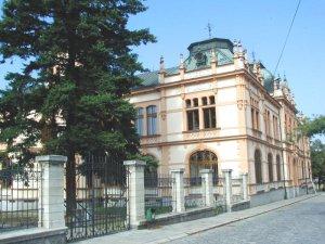 Secesní budova muzea